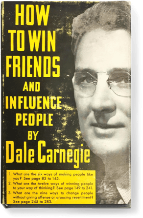 "Dale Carnegie penned his renowned book ""How to Win Friends and Influence People."" Still a popular book today, Dale Carnegie's four part book contains advice on how to create success in business and personal lives."