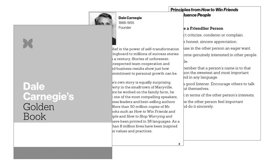 Dale Carnegie's Secrets of Success - Dale Carnegie of Singapore